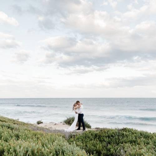 Seeplaas beach wedding by Liezel Volschenk